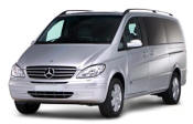 Chauffeur driven Mercedes Viano people carrier - Up to 7 passengers in comfort, from Cars for Stars (Shrewsbury) - Airport Transfer Services